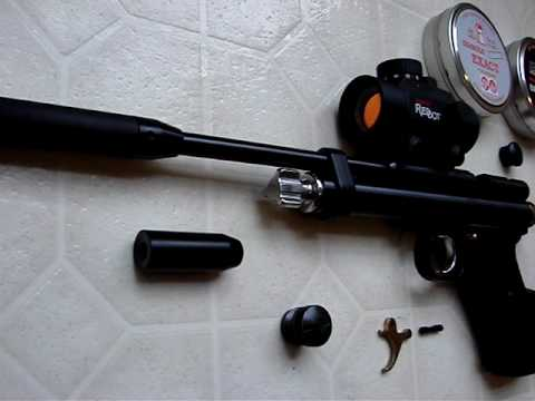Crosman 2240 from the Custom Shop with Modifications
