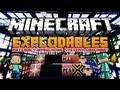 Minecraft 1.6.2 Mody - Explodables Mod - Materiały Wybuchowe & Systemy Obronne!