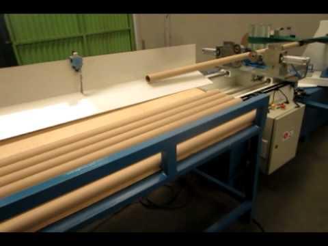 Tubeteira - A Idealmax produz uma série de máquinas tubeteiras que são uma excelente opção em produtividade na fabricação de tubos de papelão para a indústria têxtil, al...