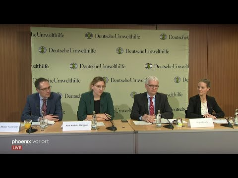 Pressekonferenz der Deutschen Umwelthilfe am 18.12.20 ...