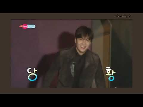 That one interview where he was laughing throughout non-stop 🥺💗 #LeeMinHo