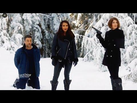 Lucifer 3x03 Maze Rivers Dan Fight with Bad Guys in Snow - Chloe & Herrera Season 3 Episode 3 S03E03