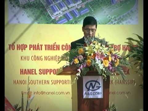 Phát biểu của Ông Nguyễn Hoàng tại Lễ khởi công Hanssip ngày 17/12/2012