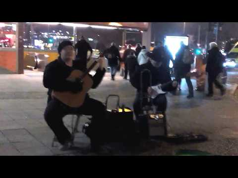 Street Music Berlin No3 am ICC Januar 2018