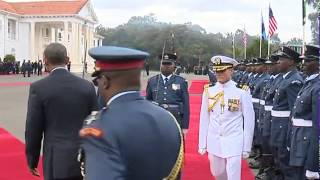 Obama Visits State House, Kenya