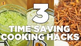 3 Time Saving Cooking hacks by Food Fusion
