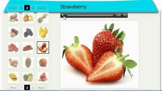 English Vocabulary Fruits (http://www.english-vocabulary-easy.com)