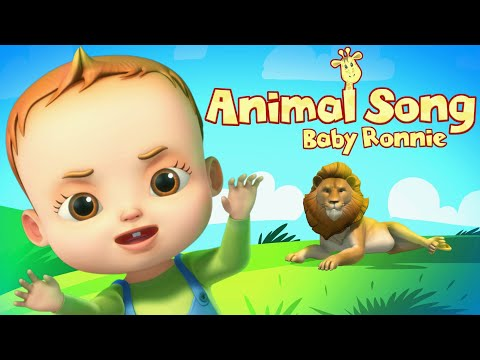 Animal Song And More Nursery Rhymes | Baby Ronnie | Videogyan 3D Rhymes | Learn Animals For Kids