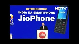 """At the Reliance AGM on Friday, Chairman Mukesh Ambani announced JioPhone was introduced as """"India ka Smartphone"""", for an """"effective price of Rs. 0"""" - but you have to pay a """"fully refundable"""" Rs. 1,500 deposit, refunded after three years.Although Reliance Jio launched in India in September, the company's offering has been restricted to smartphone users as it is a 4G only network, and to make calls, a phone has to support the VoLTE technology, which is usually not found on basic phones. The company aims to change that with the JioPhone, which comes with 4G VoLTE support. The JioPhone will include access to apps like JioCinema, JioTV, and JioMusic.NDTV is one of the leaders in the production and broadcasting of un-biased and comprehensive news and entertainment programmes in India and abroad. NDTV delivers reliable information across all platforms: TV, Internet and Mobile.Subscribe for more videos: https://www.youtube.com/user/ndtv?sub_confirmation=1Like us on Facebook: https://www.facebook.com/ndtvFollow us on Twitter: https://twitter.com/ndtvDownload the NDTV Apps: http://www.ndtv.com/page/appsWatch more videos: http://www.ndtv.com/video?yt"""