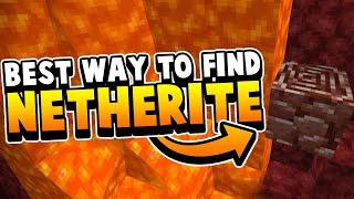 Best Way To Find Netherite / Ancient Debris (New Rarest Ore)