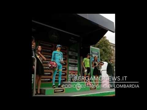 Chavez sul podio del 110° Giro di Lombardia