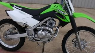 8. $3,699:  2017 Kawasaki KLX140 G Overview and Review