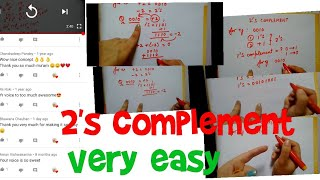 2's complement | very easy