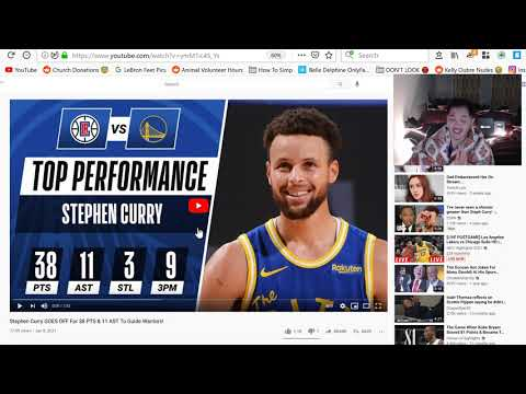 Stephen Curry GOES OFF For 38 PTS & 11 AST To Guide Warriors Vs Clippers - CLIPPERS at WARRIORS