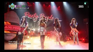 Video BLACKPINK - 'SURE THING (Miguel)' COVER 0812 SBS PARTY PEOPLE MP3, 3GP, MP4, WEBM, AVI, FLV November 2018