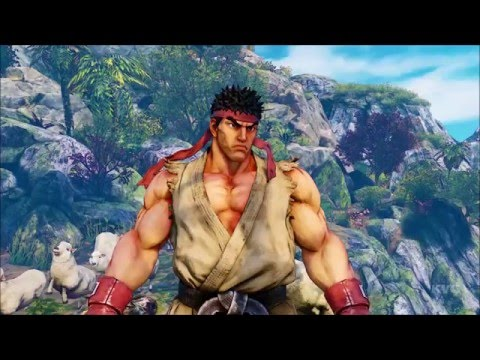 street fighter v gameplay (pc)