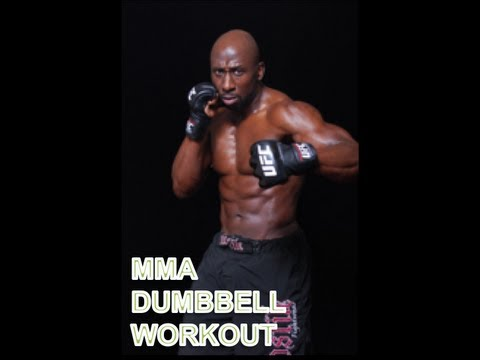 Dumbbell Workout for MMA and Combat Fighters