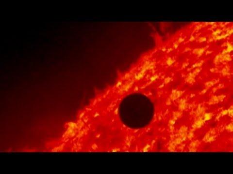 Transit de Vénus 2012: des images incroyables Pris sur le satellite de la NASA