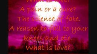 What is love by Take That With Lyrics