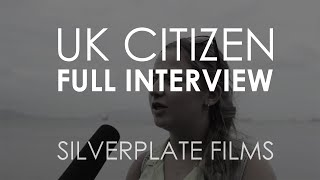 UK Citizen (FULL INTERVIEW) - Cleanliness Documentary | Silverplate Films