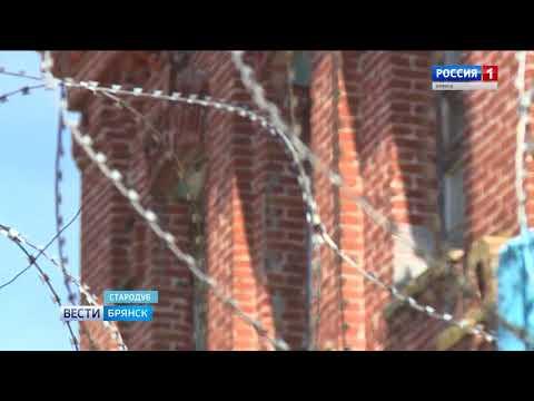 В Стародубе законсервировали старинную постройку (видео)