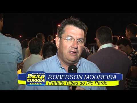 Ribas Do Rio Pardo - Comício Roberson Moreira