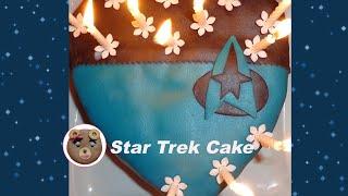 Star Trek Cake, poires-chocolat