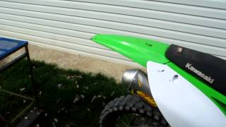 6. FMF Powercore 4 exhaust on 2009 Kawasaki KX450F