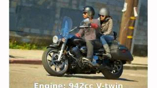 6. 2014 Yamaha V Star 950 Tourer  Info Engine