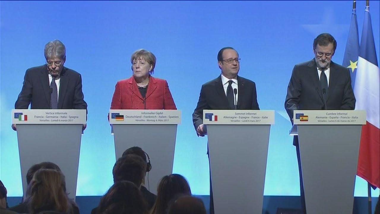 Υπέρ μιας Ευρώπης πολλών ταχυτήτων τάσσονται οι ισχυροί της ΕΕ
