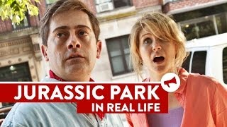 Jurassic Park In Real Life - Movies In Real Life (Episode 6)