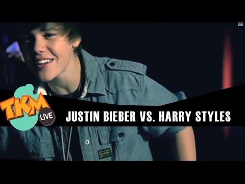 Justin Bieber Vs. Harry Styles / TKM
