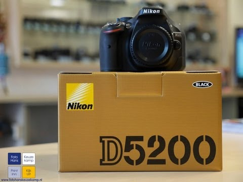 2013 Nikon D5200 DSLR Unboxing and First Impressions!