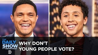 Jaboukie Young-White on Why Young People Don't Vote | The Daily Show
