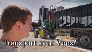 Video Je vous emmène faire du Transport! John Deere + Fliegl Black édition MP3, 3GP, MP4, WEBM, AVI, FLV November 2017
