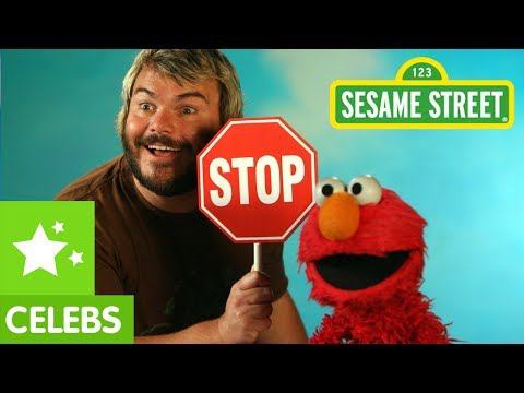 Sesame Street - Jack Black Defines an Octagon