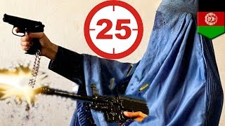 Revenge is sweet: Afghan mother kills 25 Taliban fighters who killed her police officer son