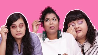 Video Women Put On Makeup Without Mirrors MP3, 3GP, MP4, WEBM, AVI, FLV Mei 2018