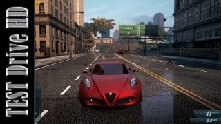 Alfa Romeo 4C Concept - Need For Speed: Most Wanted 2012 - Test Drive [HD]