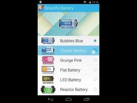 Video of Beautiful Battery Widget