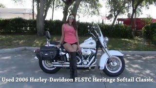 6. 2006 Harley Davidson Heritage Softail Classic for sale in South Carolina