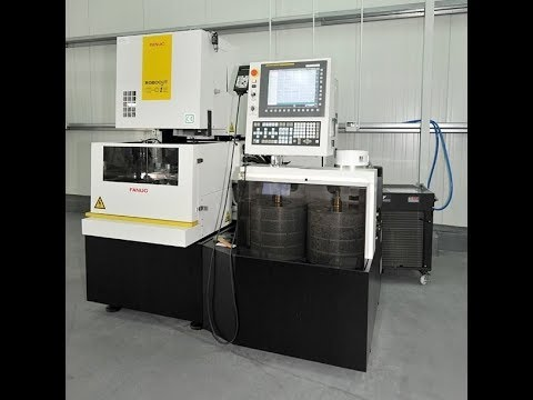 Wire Electrical Discharge Machine Fanuc ROBOCUT ALPHA OIE 2012