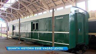 Único vagão da Sorocabana em Bauru é restaurado