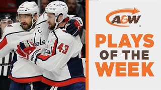 NHL Plays Of The Week: Wilson's Insane Feed For Ovechkin's Hattie by Sportsnet Canada