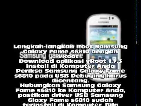 tutorial root samsung galaxy fame