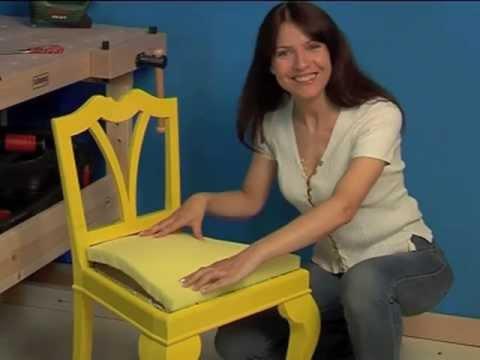 Riparazione sedie ecco come fare tappezzeria gloria - Tappezzare sedia costo ...