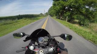 3. 2012 Suzuki GSXR 600 test drive review
