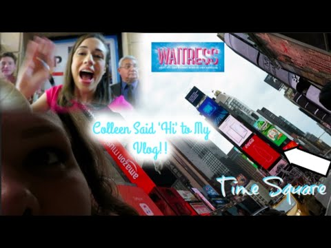I Drove 6 Hours to See Colleen Ballinger on Broadway! | She Said Hi to My Vlog!!!