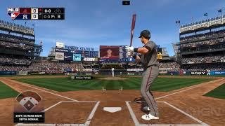 MLB The Show 18 - The Arizona Diamondbacks Vs The New York Yankees Gameplay