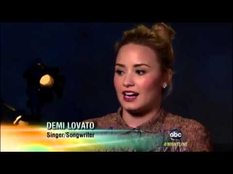 Demi Lovato Talks About Eating Disorder (2013)